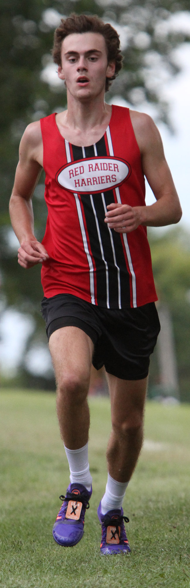 Wauwatosa East's Sam Potter finished second with a time of 16:41.91 in the Menomonee Falls Coaches Classic cross country race Aug. 28 at Rotary Park.
